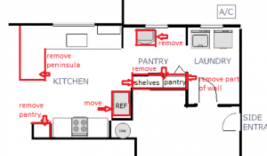 House Plans July2011 Pantry Remodel Proposed
